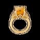 Nhẫn Vàng 18K đính đá Citrine PNJ CTXMY000426