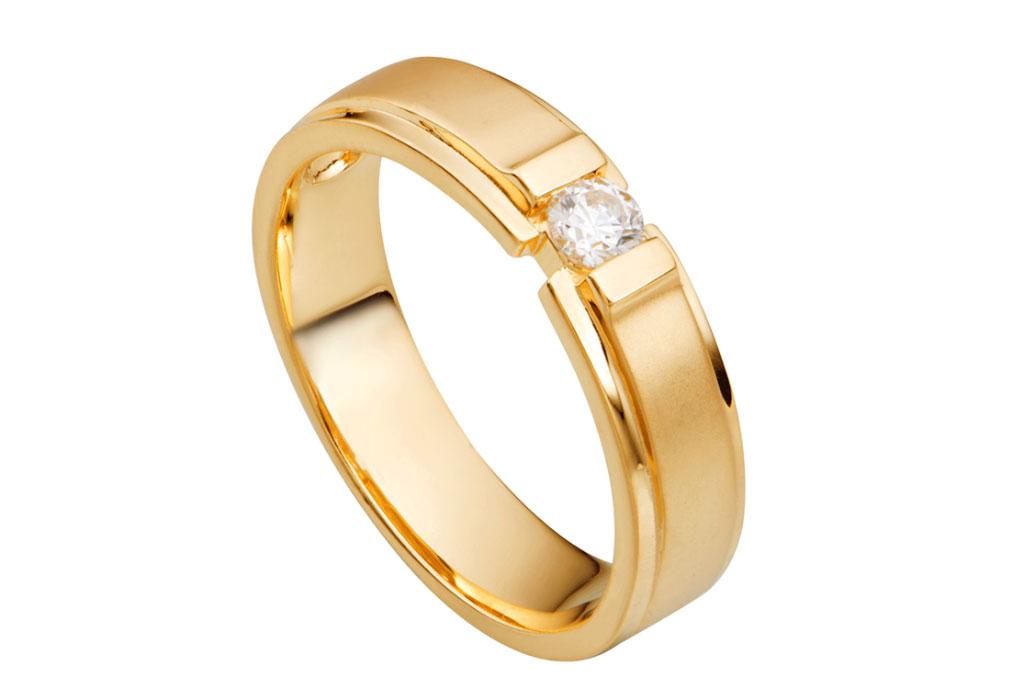 PNJ mang đến những mẫu nhẫn cưới có thiết kế hiện đại và sang trọng