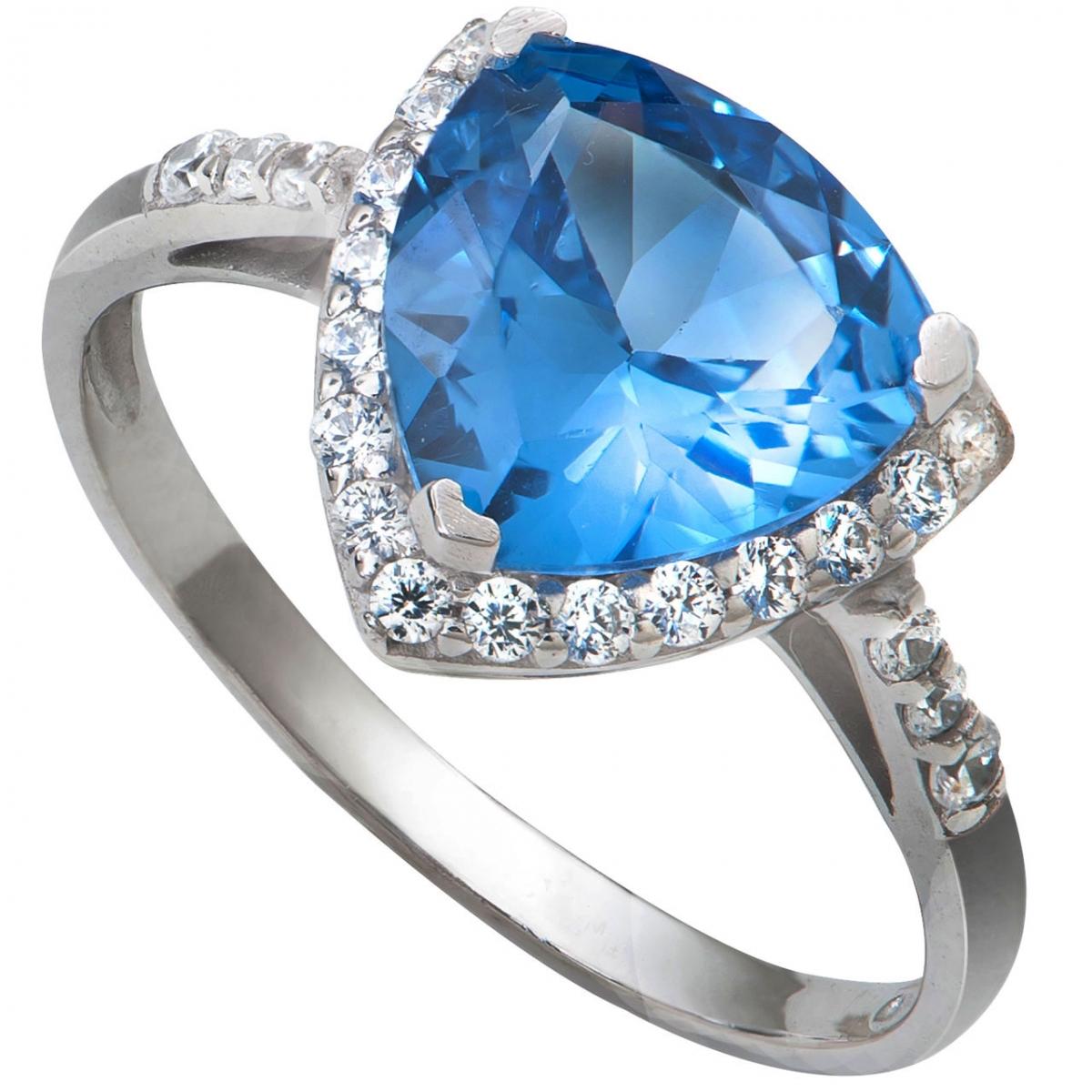 Nhẫn bạc PNJSilver đính đá màu xanh 10595.400 - 3818671 , SND2KN10595_400 , 274_SND2KN10595_400_0 , 545000 , Nhan-bac-PNJSilver-dinh-da-mau-xanh-10595.400-274_SND2KN10595_400_0 , pnj.com.vn , Nhẫn bạc PNJSilver đính đá màu xanh 10595.400