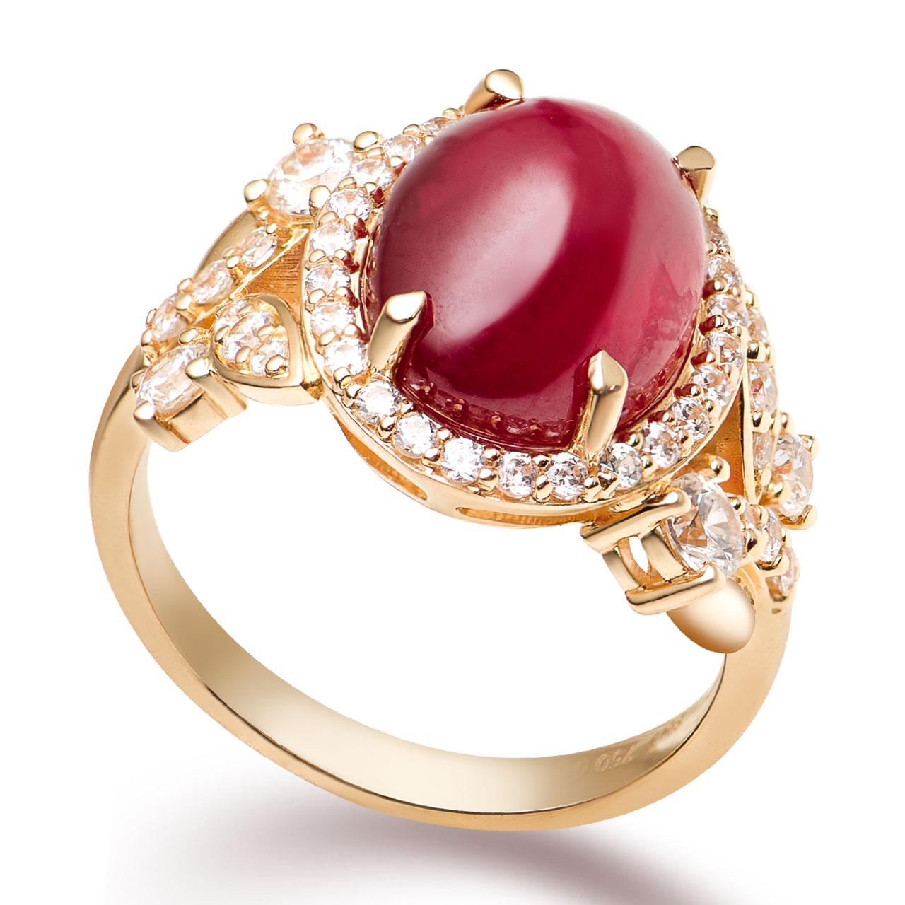 Nhẫn PNJ vàng 18K đính đá Ruby 78247.600 - 3827515 , GNDRYB78247_600 , 274_GNDRYB78247_600_14 , 18891000 , Nhan-PNJ-vang-18K-dinh-da-Ruby-78247.600-274_GNDRYB78247_600_14 , pnj.com.vn , Nhẫn PNJ vàng 18K đính đá Ruby 78247.600