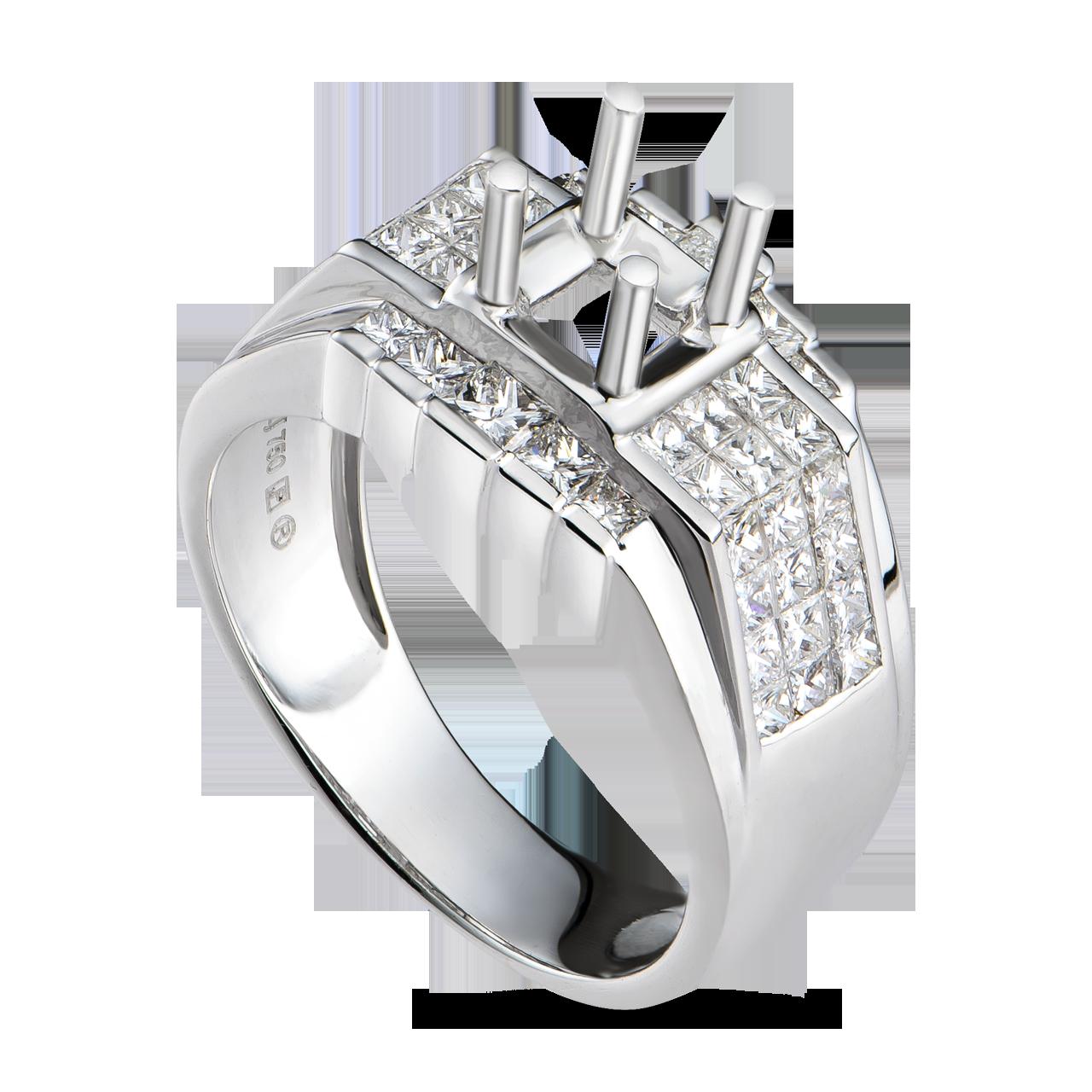 Vỏ nhẫn kim cương PNJ vàng trắng 18K 82053.502 - 3830104 , GNVRWA82053_502 , 274_GNVRWA82053_502_18 , 52580000 , Vo-nhan-kim-cuong-PNJ-vang-trang-18K-82053.502-274_GNVRWA82053_502_18 , pnj.com.vn , Vỏ nhẫn kim cương PNJ vàng trắng 18K 82053.502