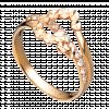 Nhẫn PNJ Vàng 18K đính đá CZ