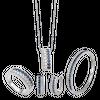 Bộ trang sức Vàng trắng 14K đính đá Sapphire PNJ 00051-00012