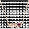 Dây cổ PNJ Phượng Hoàng Vàng 18K đính đá Ruby