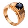 Nhẫn Nam PNJ Vàng 18K đính đá Sapphire 17587.605