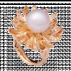Nhẫn PNJ vàng 18K đính ngọc trai Freshwater