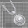 Mặt dây chuyền bạc PNJSilver đính đá