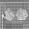 Bông Tai Cưới PNJ Sắc Hoa tinh Khôi Vàng Trắng 10K đính đá ECZ