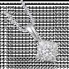 Mặt dây chuyền Kim Cương PNJ Vàng trắng 14K
