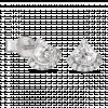 Bông tai PNJ Galaxy Vàng trắng 10K đính đá ECZ 87699.100