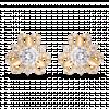 Bông tai PNJ Vàng 18K đính đá CZ 78991.102