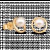 Bông tai PNJ vàng 14K đính ngọc trai Freshwater