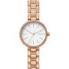 Đồng hồ nữ thời trang dây thép không gỉ mạ vàng công nghệ PVD Skagen SKW2619