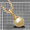 Mặt dây chuyền PNJ Vàng 18K đính ngọc trai South Sea 91280.300