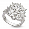 Nhẫn Kim cương PNJ Vàng trắng 14K 90271.5A3