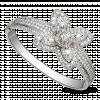 Vòng tay Kim cương PNJ Vàng trắng 14K 89488.5A1