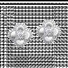 Bông tai Kim Cương PNJ First Diamond Vàng trắng 14K 85063.501