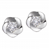 Bông tai Kim Cương PNJ Vàng trắng 14K 72039.5A2