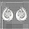 Bông tai Kim Cương PNJ Vàng trắng 14K 72550.5A0
