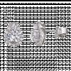 Bông tai PNJ Vàng trắng 10K đính đá ECZ 78568.106