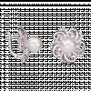 Bông tai PNJ vàng trắng 14K đính ngọc trai Freshwater 82884.600
