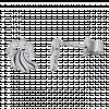 Bông tai PNJ Vàng trắng Ý 18K 73439.002