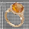 Nhẫn PNJ Vàng 18K đính đá Citrine 73668.600