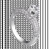 Nhẫn Kim Cương PNJ Vàng trắng 14K 84432.506