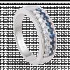 Nhẫn PNJ Vàng trắng 14K đính đá Sapphire 77653.600