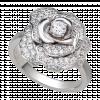 Nhẫn PNJ Vàng 10K đính đá ECZ Swarovski 77767.106