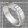 Nhẫn PNJ Vàng trắng 10K đính đá ECZ Swarovski 78551.106