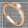 Nhẫn PNJ Vàng 18K đính đá CZ 59559.102
