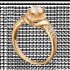 Nhẫn PNJ Vàng 18K đính đá CZ 74228.102