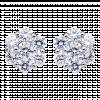 Bông tai bạc PNJSilver đính đá 07373.100