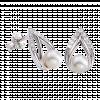 Bông tai bạc hình giọt nước PNJSilver My Feeling đính ngọc trai 12922.200