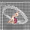 Nhẫn bạc hình chim hồng hạc PNJSilver Retro Forest đính đá màu hồng 92341.404