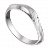 Nhẫn Cưới Nam PNJ Vàng trắng 14K 91965.001