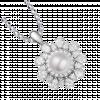 Mặt dây chuyền bạc PNJSilver Retro Forest đính ngọc trai 92403.200