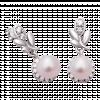 Bông tai cưới PNJ Ngọc Yêu Thương Vàng trắng 14K đính ngọc trai Freshwater 85979.601