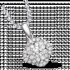 Mặt dây chuyền Kim Cương PNJ Vàng Trắng 14K 79899.509