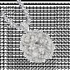 Vỏ mặt dây chuyền Kim cương PNJ Vàng trắng 18K 81756.510