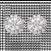 Bông tai PNJ vàng trắng 10K đính đá ECZ Swarovski 94242.100