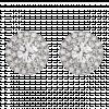 Bông tai Kim Cương PNJ Vàng trắng 14K 77774.5A0