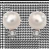 Bông tai bạc PNJSilver đính ngọc trai 11094.200