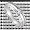 Nhẫn cưới nam Kim cương PNJ vàng trắng 14K