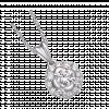 Mặt dây chuyền Kim Cương PNJ Vàng trắng 14K 95181.5A1