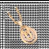 Mặt dây chuyền PNJ Vàng 14K đính đá CZ 95240.100