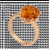 Nhẫn PNJ Vàng 18K đính đá Citrine 70215.600