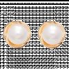 Bông tai PNJ vàng 18K đính ngọc trai Freshwater 69135.611