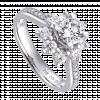 Nhẫn Kim Cương PNJ Vàng trắng 14K 95224.5A1